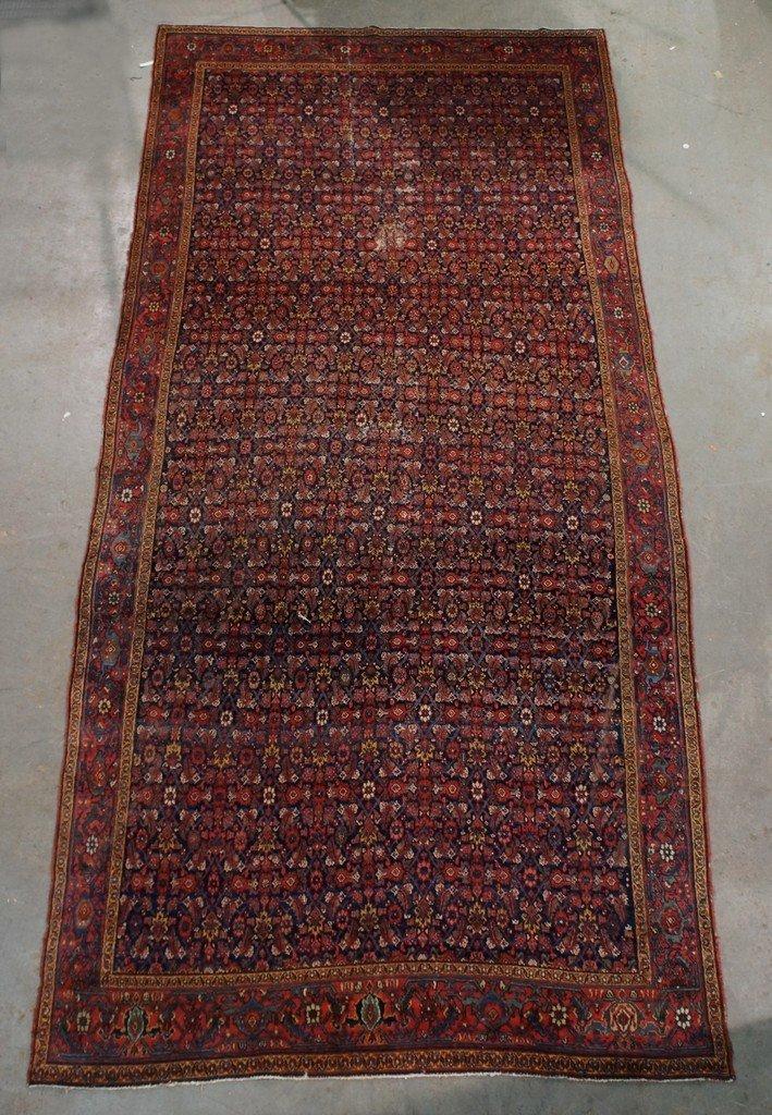 """89"""" x 194"""" Hamadan corridor carpet"""