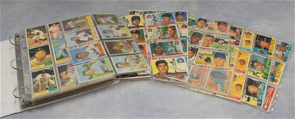 Baseball card binder, 450+, Bowman & Topps,