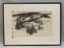 Tom Bostelle American PA 19212005 charcoal on