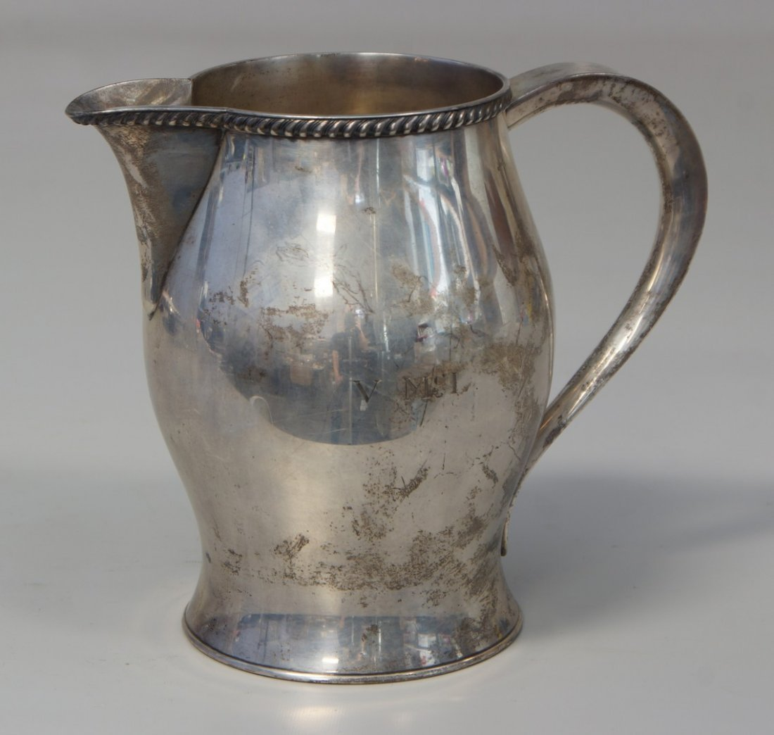 Paul Revere Reproduction sterling silver pitcher, made