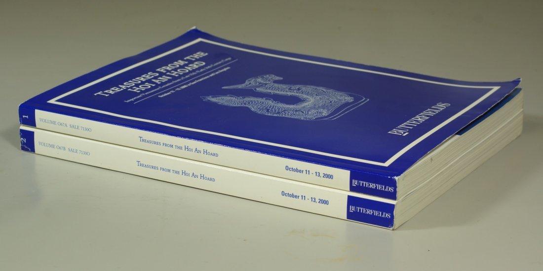 Lot of two Hoi An Hoard Butterfields catalogs,