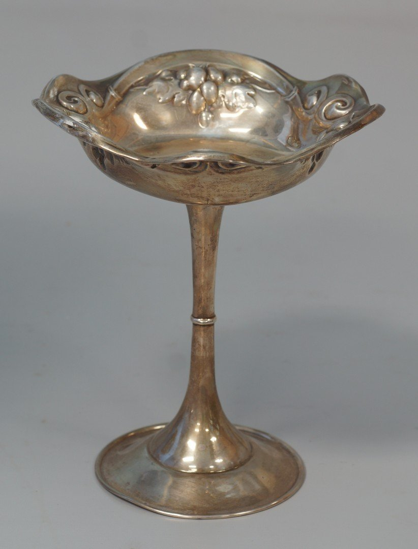 Mauser sterling silver compote, marked 925/1000 Fine,