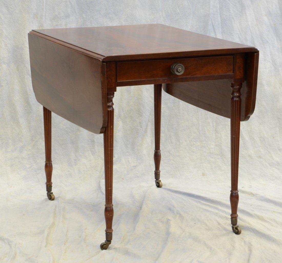 Karcher & Rehn, Philadelphia mahogany Sheraton style
