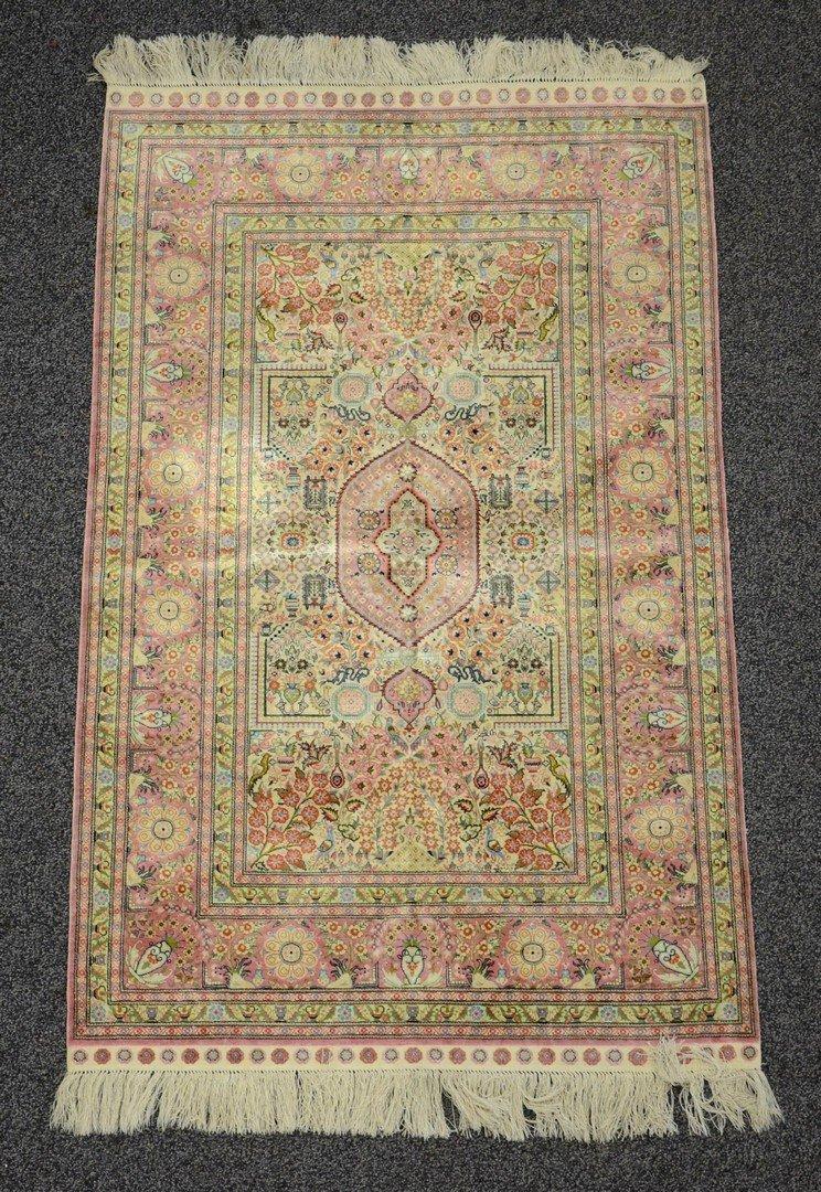 3' x 5' Turkisk silk carpet