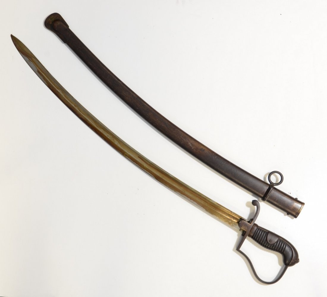 German WW1 Heavy Cavalry Saber, unmarked with exception