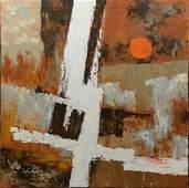 Stephen Kaye (American, 20th Century), acrylic on