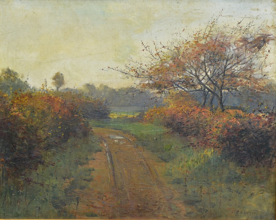 Continental School (19th Century), oil on canvas,