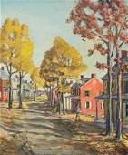 Walter E Baum American 18841956 oc 30 x 25