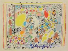 Pablo Picasso (Spanish, 1881-1973), lithograph, Le