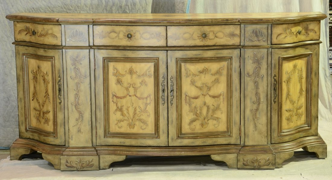 """Hooker Furniture """"Seven Seas"""" credenza with smoky"""