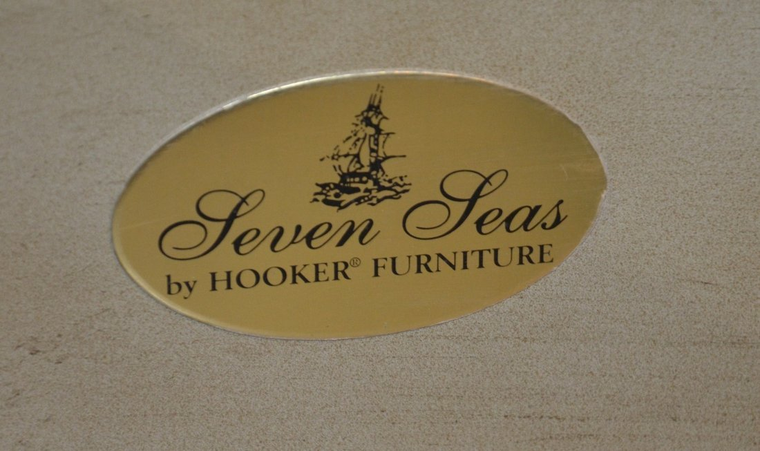 """Hooker Furniture """"Seven Seas"""" credenza with smoky - 2"""