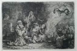 """Rembrandt van Rijn (Dutch, 1606-1669), etching, """"The"""