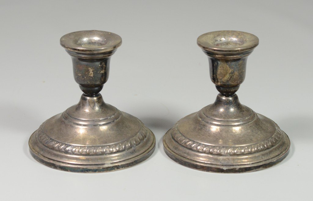 Pr weighted sterling candlesticks by Columbia with