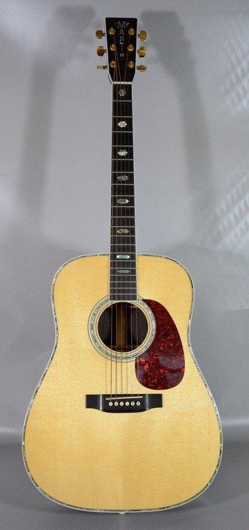 C.F Martin D-41 guitar, spruce top, rosewood body,
