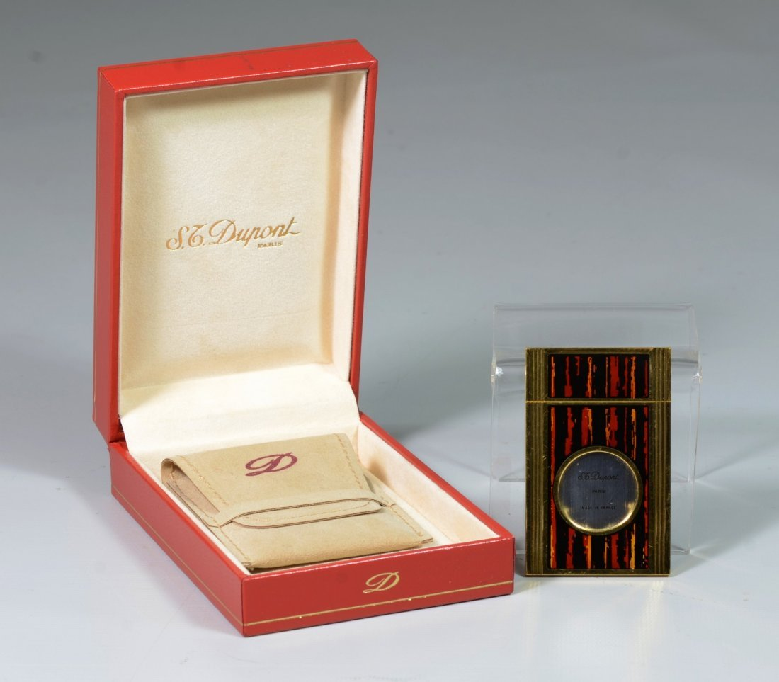 """S T DuPont Cigar Cutter, marks """"DuPont"""" and """"Paris"""""""