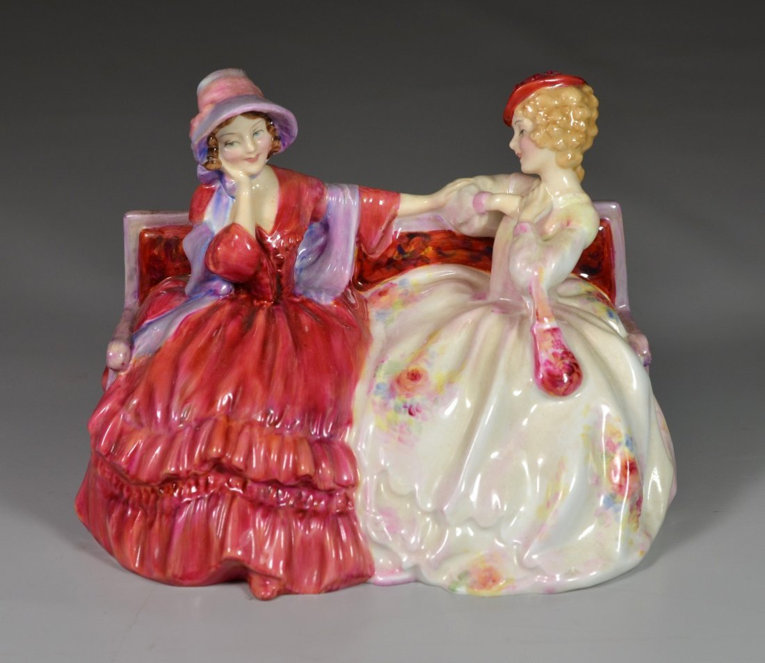 Royal Doulton The Gossips bone china figurine, HN 2025,
