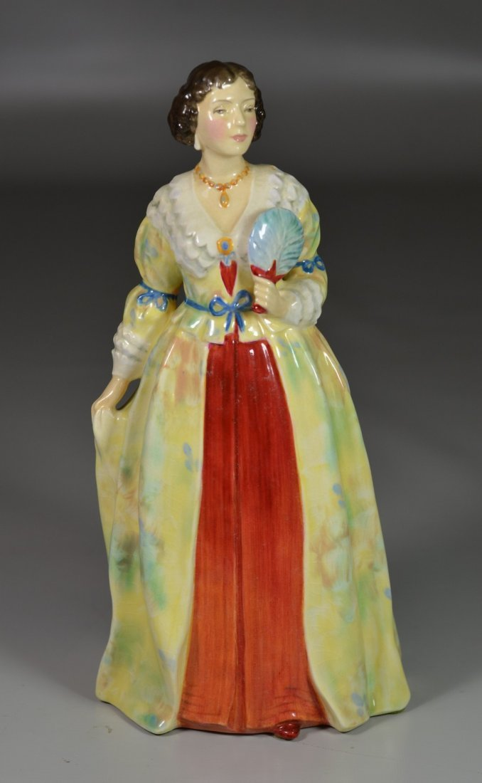 Royal Doulton Henrietta Maria bone china figurine, HN