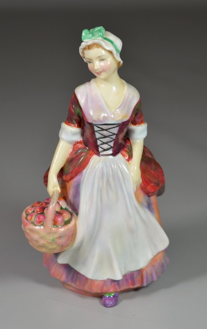 Royal Doulton Prue bone china figurine, HN 1996, 7""
