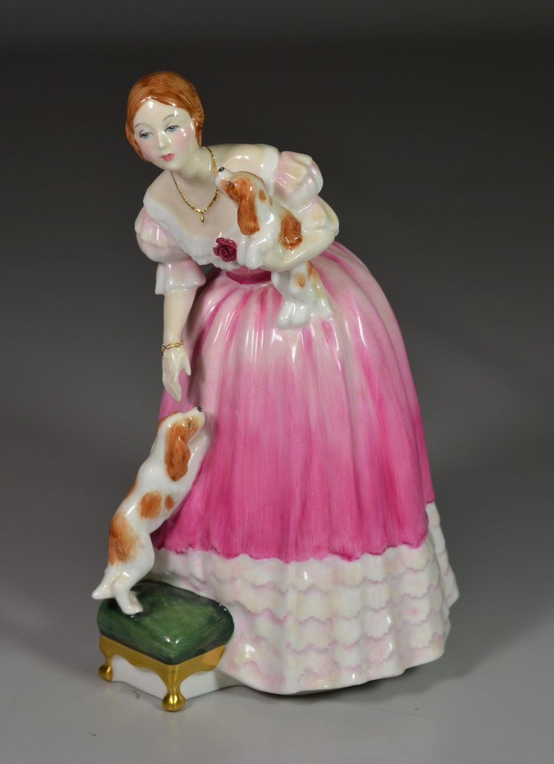 Royal Doulton Queen Victoria bone china figurine,