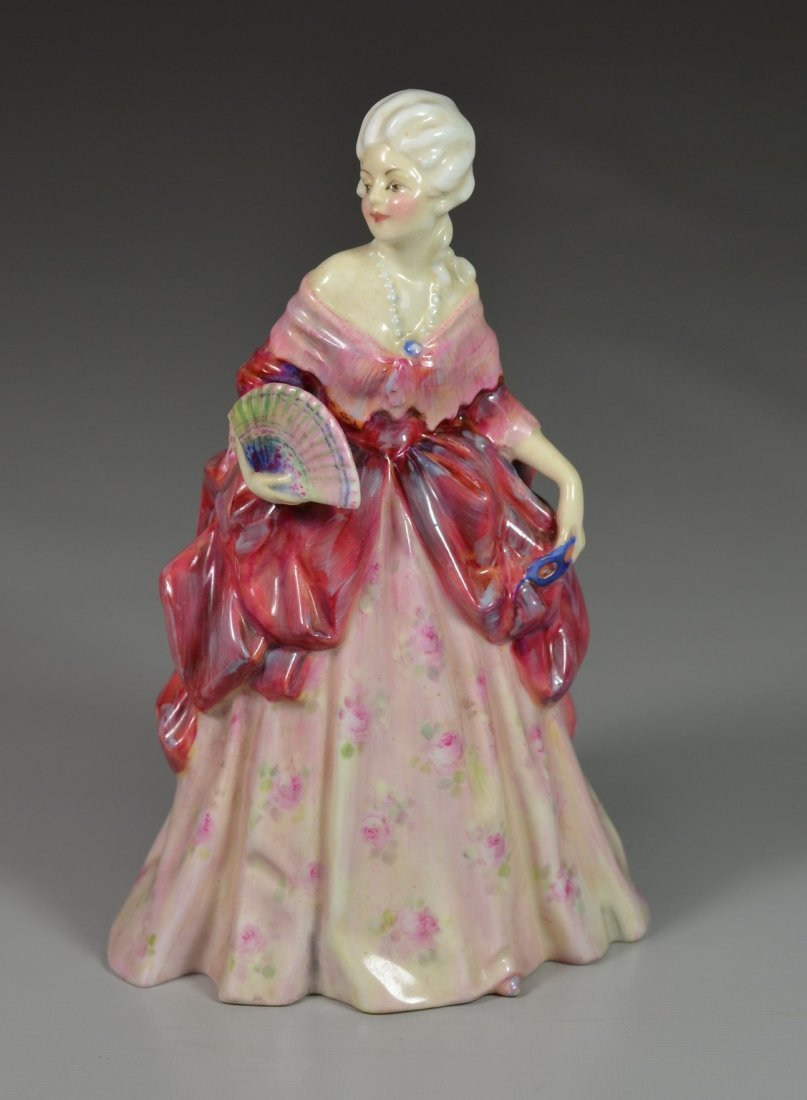 Royal Doulton Fleurette bone china figurine, HN 1587,
