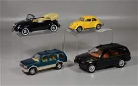 (4) Scale model cars, Maisto Ford Explorer 1/24 scale,