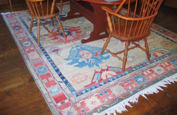 6: 8' x 10' Turkish carpet.  *HFH.