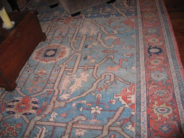 "9: 10' 2"" x 14' 1"" Turkish carpet.  Design ""Euphrates """
