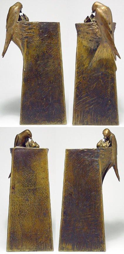 189A: Adolf Pohl bronze vase - 2