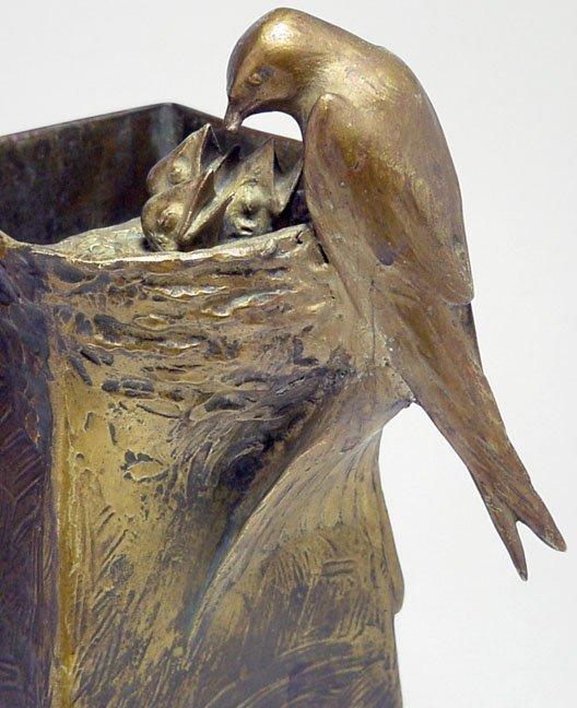 189A: Adolf Pohl bronze vase - 3