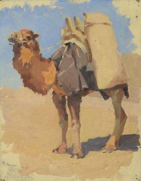Joseph Porphyre Pinchon (french, 1871-1953), Oil On