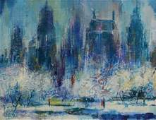 Jack Laycox American CA 19211984 oil on canvas