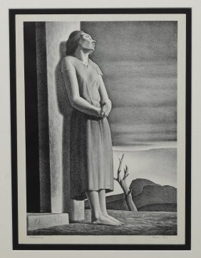 Rockwell Kent (american, 1882-1971), Lithograph,