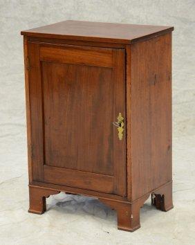 Mahogany Single Door Spice Cabinet, Interior With 9