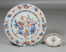 Two Pieces Of Chinese Export China To Include Chinese