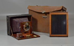 Cycle Poco No 3 View Finder Camera With Carrying Case
