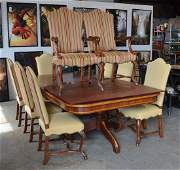 11 pc Alfonso Marina dining room set to include a