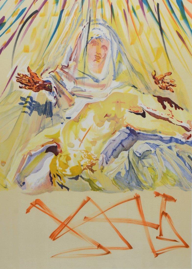 Salvador Dalí (Spanish, 1904-1989), color lithograph,