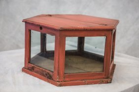 """Country Store Cheese Box/display, 14""""x26"""" (one Cracked"""