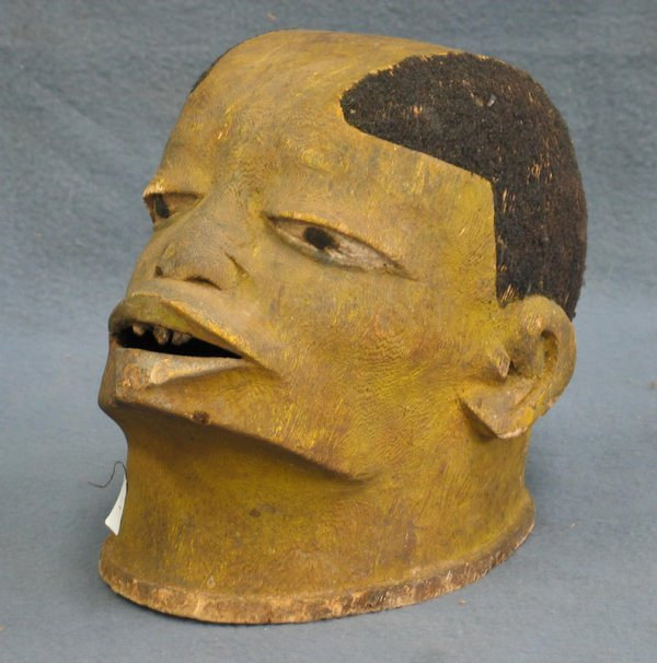 1: Lipiko helmet mask, Makonde Tribe, Mozambique (1955)