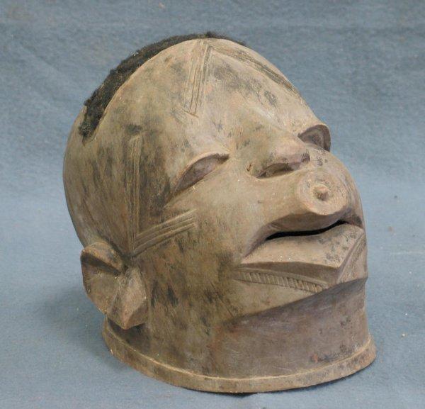 2: Makonde helmet mask, Tanzania (1950)