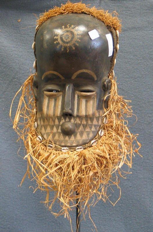 5: Kuba Bwoong mask, Kuba Tribe, Congo (1970)