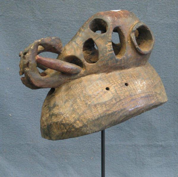 9: Elephant effigy dance mask, Marka Tribe, Mali (1970)