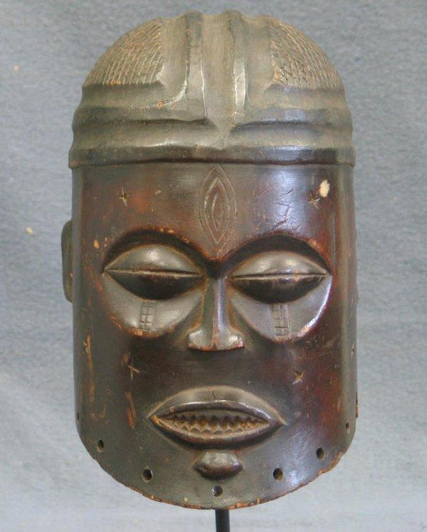 23: Helmet mask, Yoruba Tribe, Nigeria (1981)