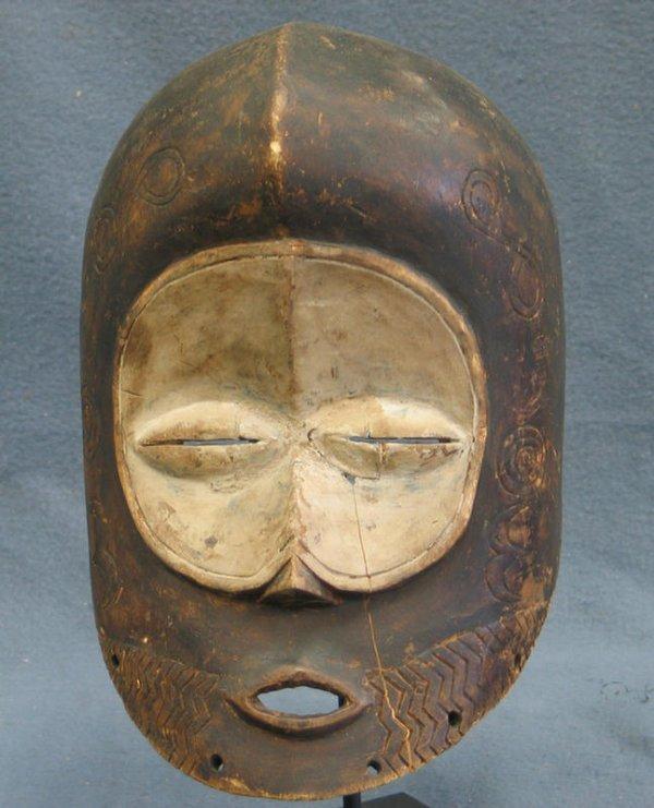 24: Bwami Society Mask, Lega Tribe, Congo (1971)