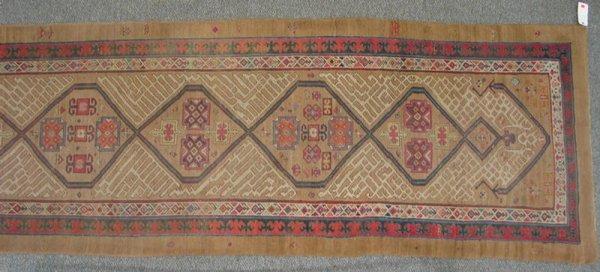 201: 16.1 x 4.3 Serab long rug, late 19th C.