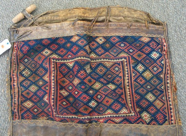 216: 3.0 x 2.6 Persian saddle bag