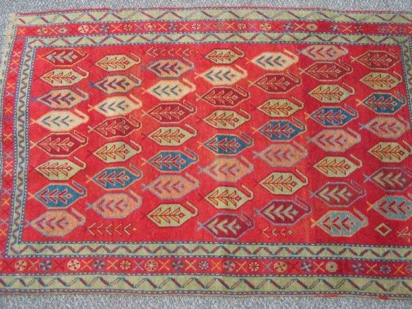 218: 3.4 x 4.6 Turkish rug