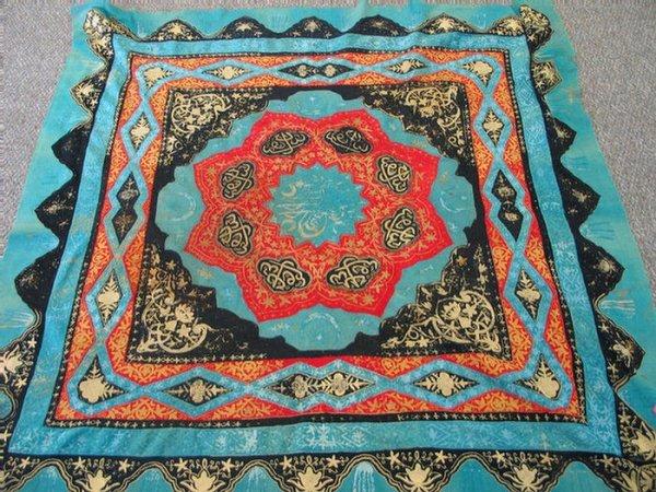 219: 5.1 x 5.0 Turkish textile
