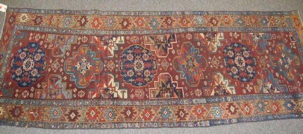 220: 3.10 x 10.2 Caucasion rug