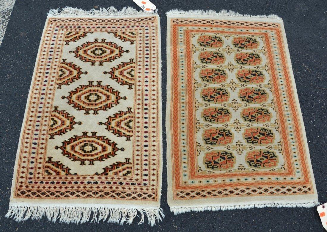 (2) Turkish Carpets, 2' x 3'